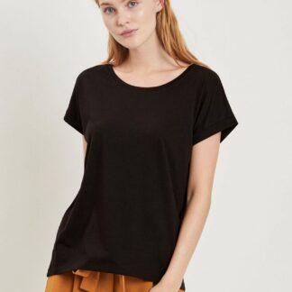 Černé basic tričko VILA Dreamers