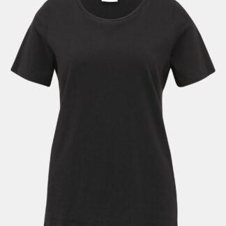 Černé basic tričko VILA Sus