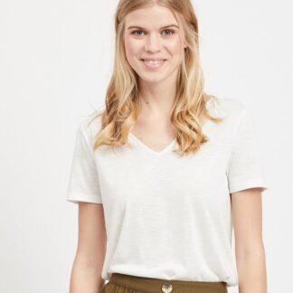 Bílé tričko VILA Noel