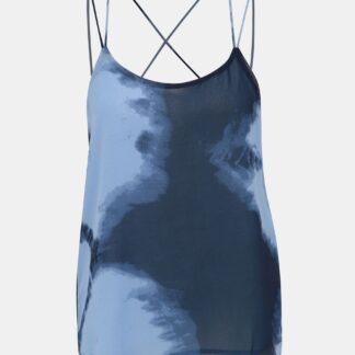 Tmavě modrý top Jacqueline de Yong Roxanne