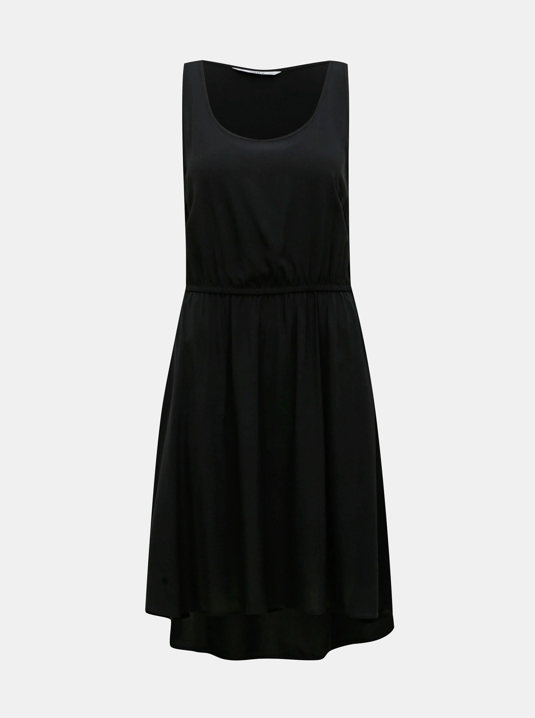 Černé šaty ONLY Sara
