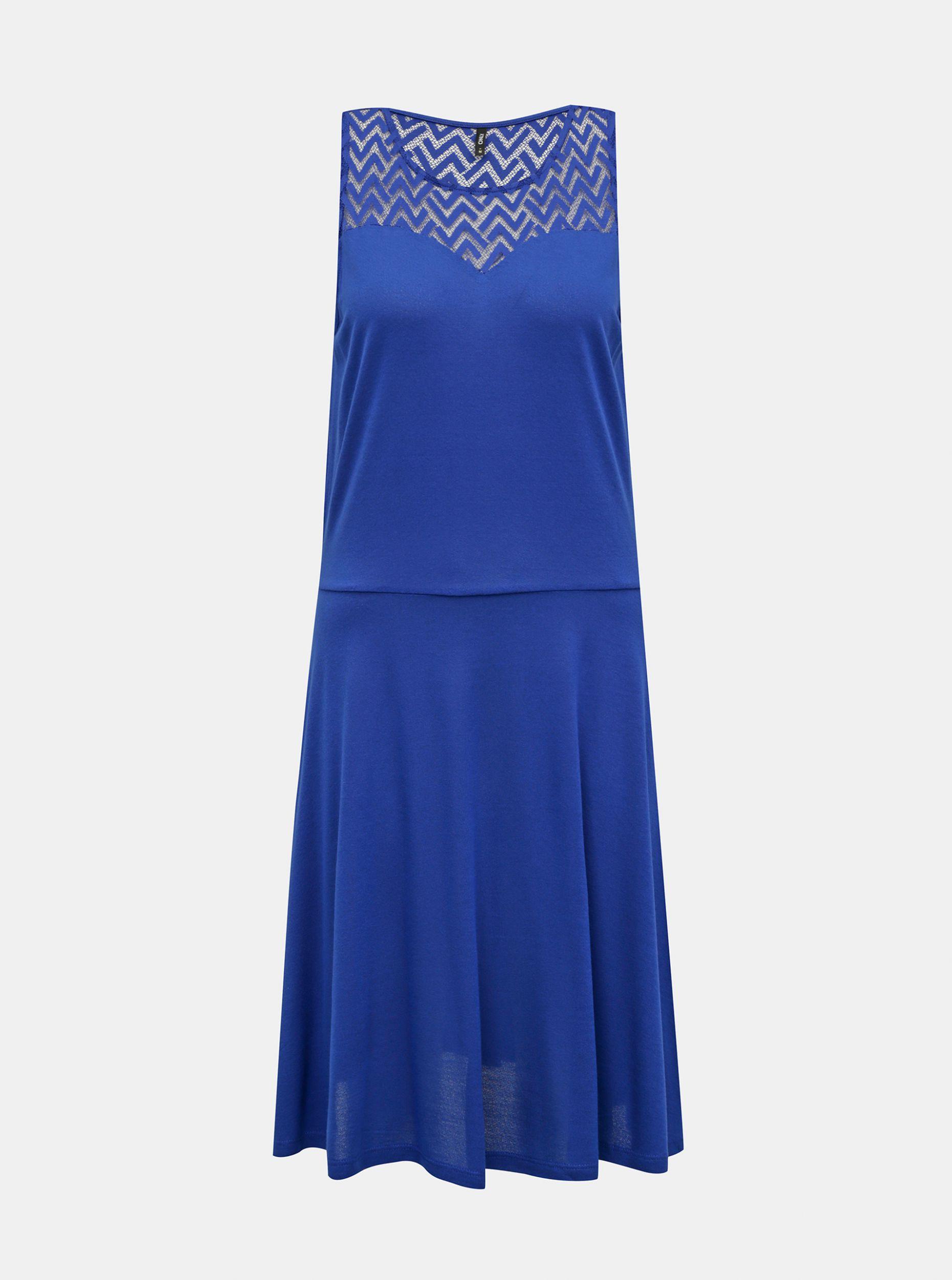 Modré šaty ONLY Nicole