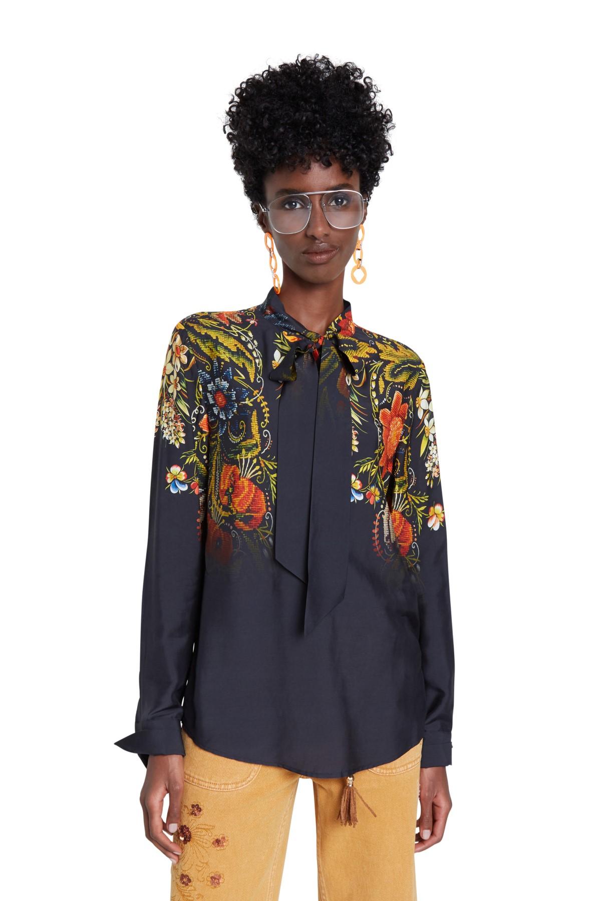 Desigual černé košile Blus Lauren