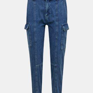 Modré straight fit džíny s kapsami TALLY WEiJL