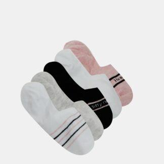 Sada pěti párů šedých nízkých ponožek TALLY WEiJL