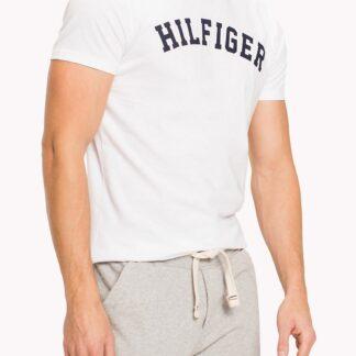 Tommy Hilfiger bílé pánské tričko SS Tee Logo