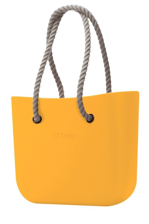 O bag kabelka Becco Doca s dlouhými provazy natural