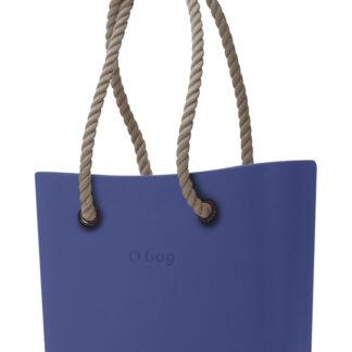 O bag kabelka Cobalto s dlouhými provazy natural