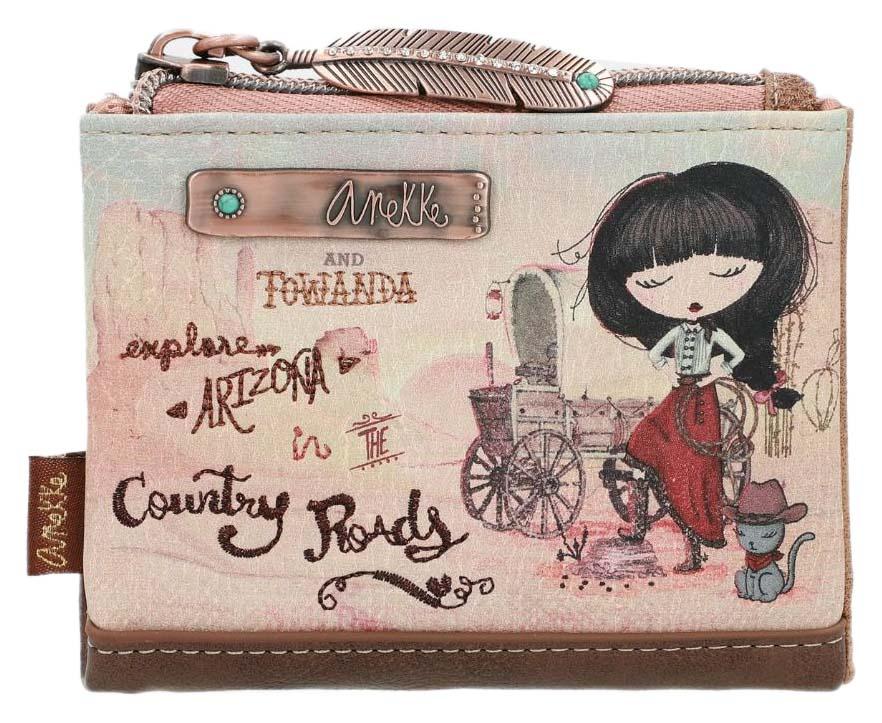 Anekke malá praktická peněženka Arizona