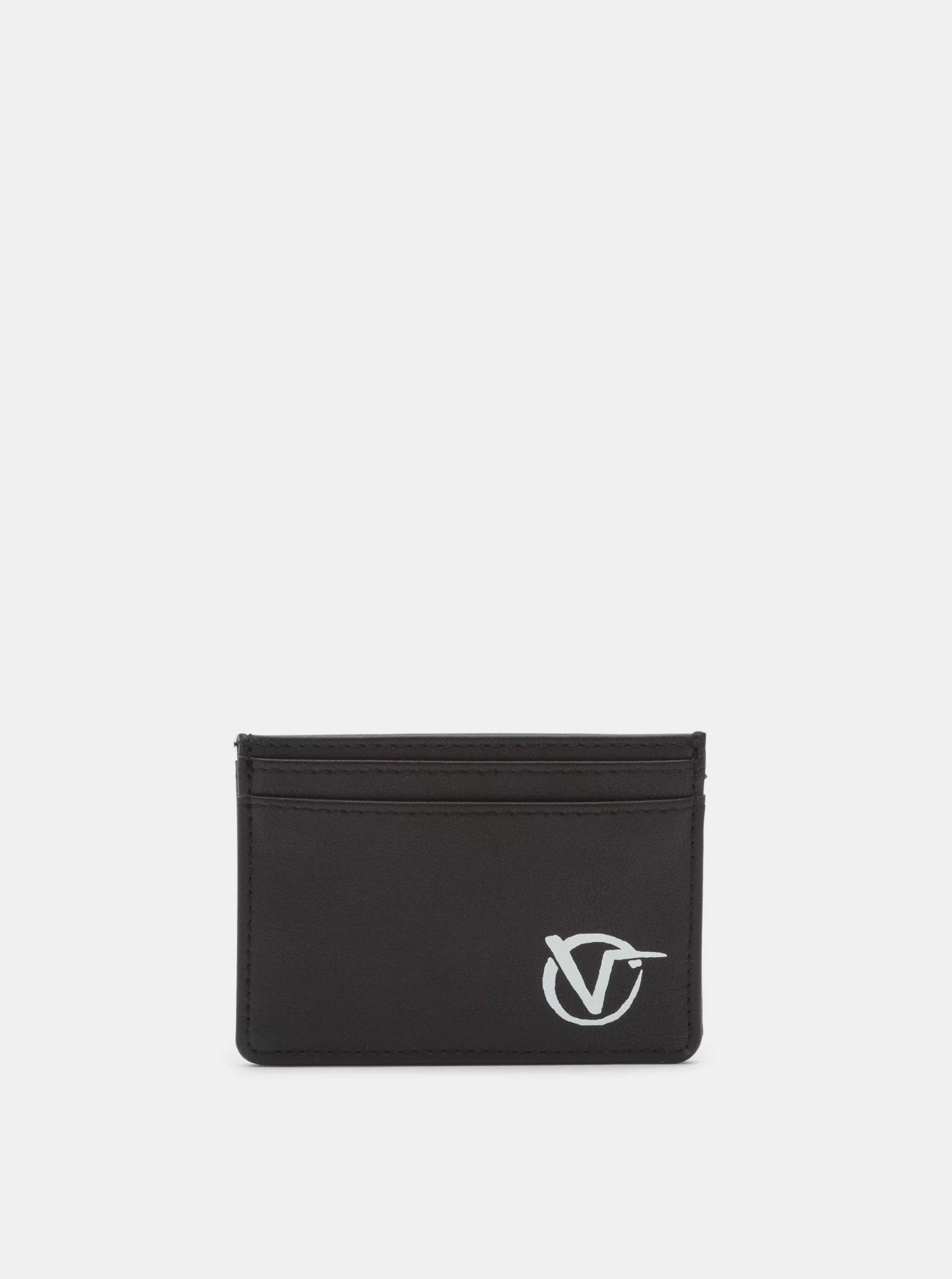 Černé pouzdro na karty VANS