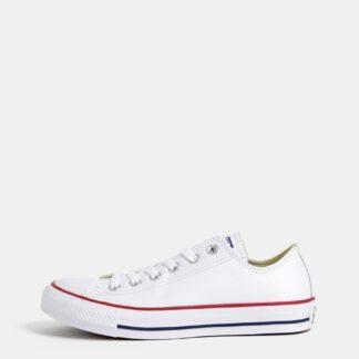 Bílé kožené tenisky Converse Chuck Taylor