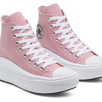 Converse růžové tenisky na platformě Chuck Taylor All Star Move
