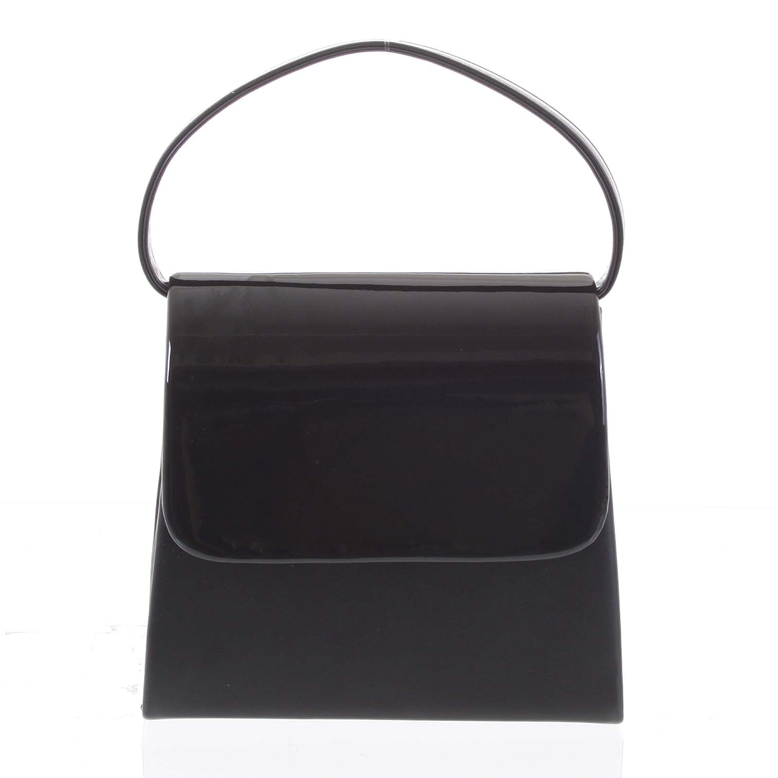 Luxusní dámské psaníčko/kabelka černé - Delami Viseria černá
