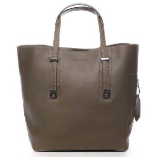Velká dámská kabelka do ruky khaki - David Jones Bruises Khaki