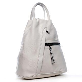 Originální dámský batoh kabelka bílý - Romina Imvelaphi bílá