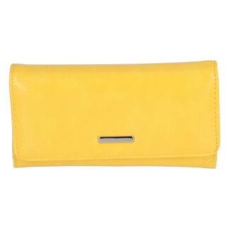 Dámské psaníčko do ruky žluté - Michelle Moon F290 žlutá