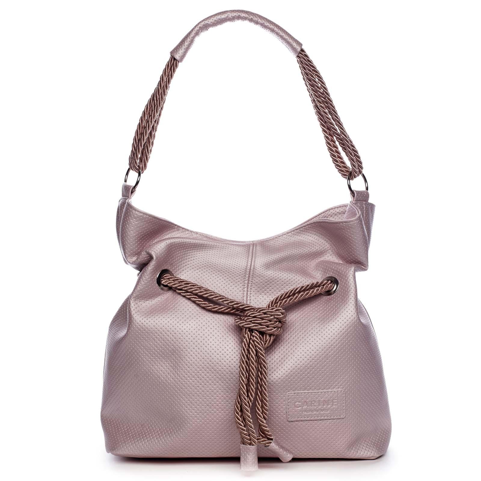 Dámská kabelka růžová - Carine C1000 růžová