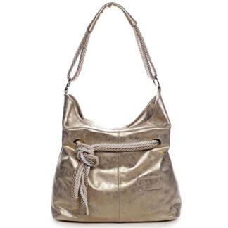 Dámská kabelka zlatá - Carine C1000 zlatá