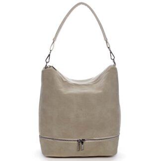Dámská kabelka přes rameno béžová - Carine Mintóli béžová