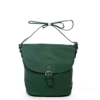 Dámská kabelka přes rameno zelená - DIANA & CO Leilla zelená