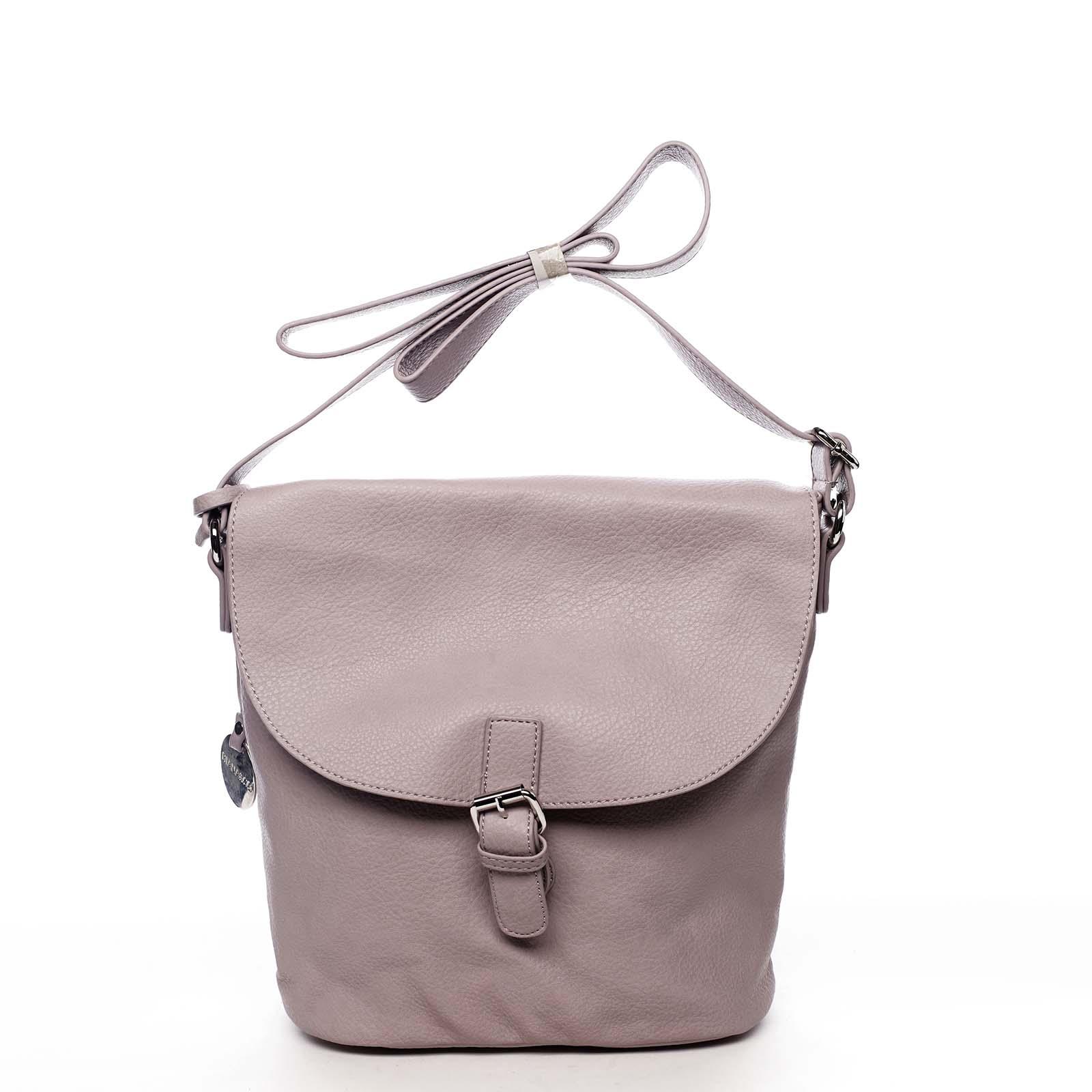 Dámská kabelka přes rameno světle fialová - DIANA & CO Leilla fialová