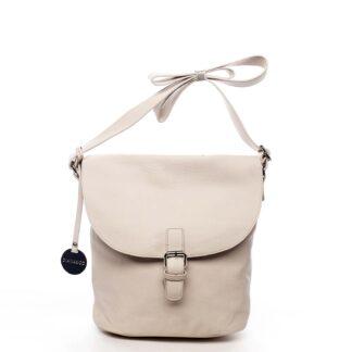 Dámská kabelka přes rameno světle béžová - DIANA & CO Leilla béžová