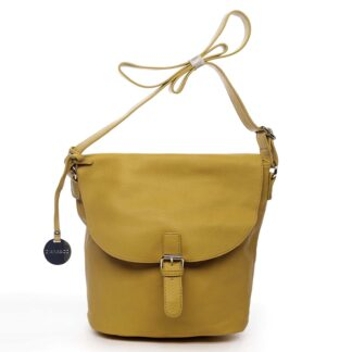 Dámská kabelka přes rameno žlutá - DIANA & CO Leilla žlutá