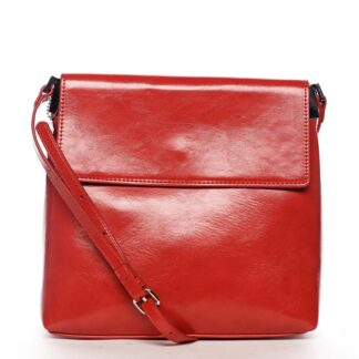Dámská crossbody kabelka červená - DIANA & CO Buzzy červená