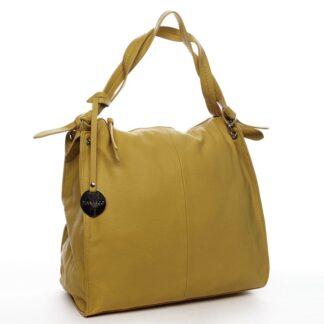 Dámská kabelka přes rameno žlutá - DIANA & CO Franczeska žlutá