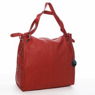 Dámská kabelka přes rameno červená - DIANA & CO Franczeska červená
