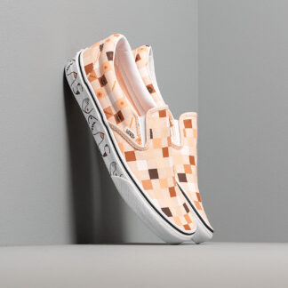 Vans Breast Cancer Awareness Classic Slip-On Nude Check/ True White VN0A4BV3TB31