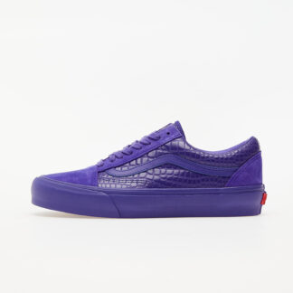 Vans Old Skool VLT LX (Croc Skin) Deep Blue VN0A4BVF2TP1