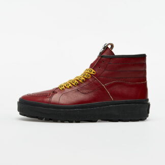 Vans Vans x Taka Hayashi Sk8-Boot LX (Leather) Red Dahlia/ Black VN0A4UWQ26K1