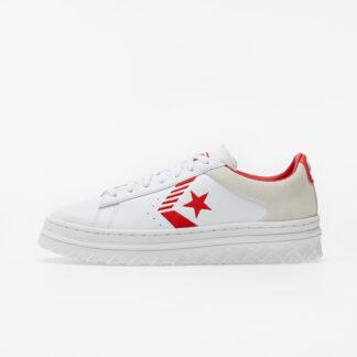 Converse Pro Leather X2 White/ Egret/ University Red 168691C