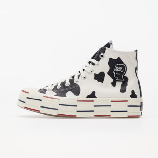 Converse x Braindead Chuck 70 Hi Egret/ Black/ French Roast 169946C
