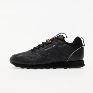 Reebok Classic Leather MU Black/ Black/ High Vivid Orange FZ1188