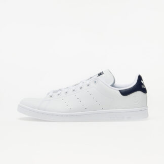 adidas Stan Smith Vegan Ftw White/ Collegiate Navy/ Green FU9611