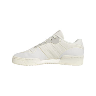 adidas Rivalry Low Core White/ Aluminium/ Grey One FV4912