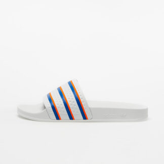 adidas Adilette Ftw White/ Blue/ Solar Red FU9888