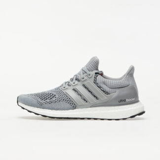 adidas UltraBOOST M Grey/ Silver Metalic/ Solar Red S77510