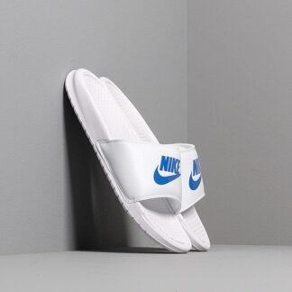 Nike Benassi Jdi White/ Varsity Royal-White 343880-102