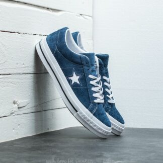 Converse One Star OX Navy/ White/ White 158371C