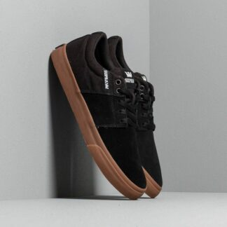 Supra Stacks Vulc II Black/ Gum 08193-055-M