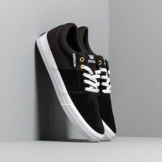 Supra Stacks Vulc II Black/ Black/ White 08029-044-M