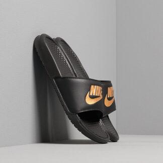 Nike Benassi Jdi Black/ Metallic Gold 343880-016