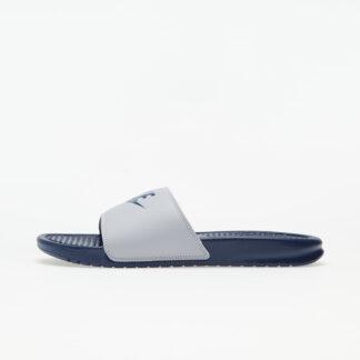 Nike Benassi JDI Wolf Grey/ Midnight Navy 343880-024