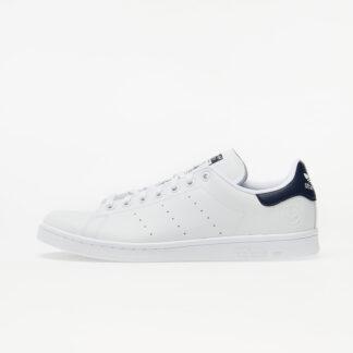 adidas Stan Smith Vegan Ftw White/ Collegiate Navy/ Green FU9611