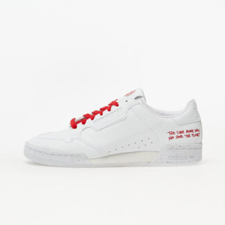 adidas Continental 80 Clean Classics Ftw White/ Ftw White/ Scarlet FU9787