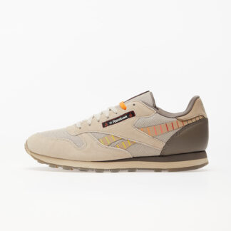 Reebok x Hot Ones Classic Leather MU Pebble/ Paper White/ Canvas H68850