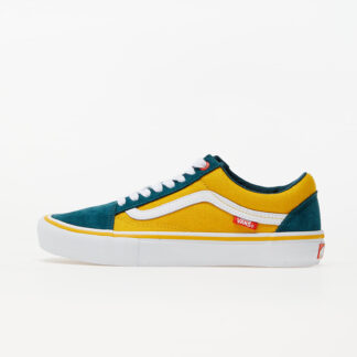 Vans Old Skool Pro (Prime) Atlantic/ Gold 6.5 VN0A45JC0V11